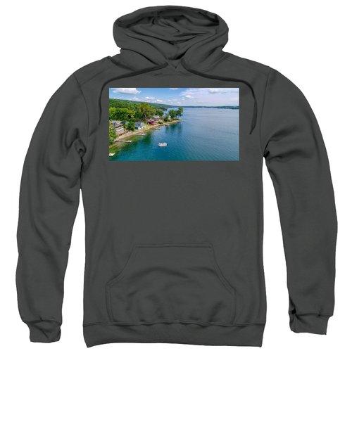 Keuka Boat Day Sweatshirt