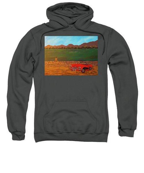 Kicks On Route 66 Sweatshirt