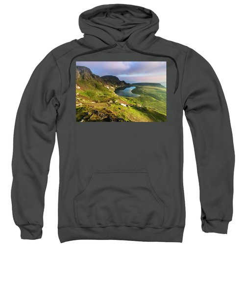 Sweatshirt featuring the photograph Kidney Lake by Evgeni Dinev