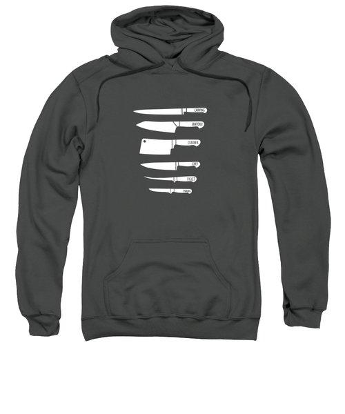 Kitchen Art Knife Guide Sweatshirt