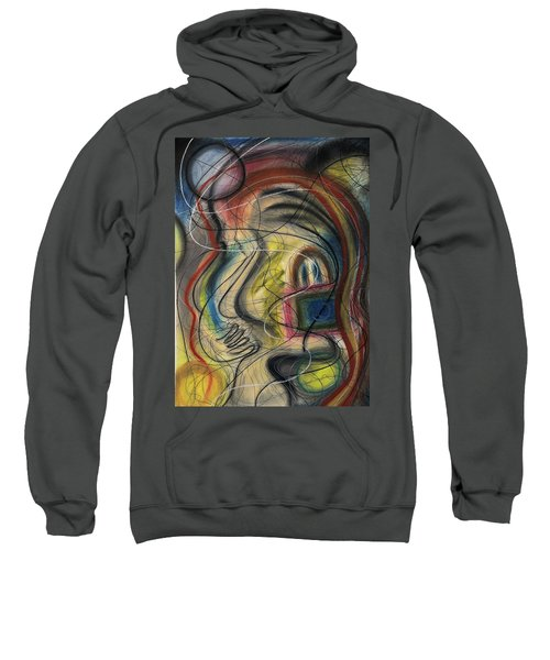 Lady With Purse Sweatshirt