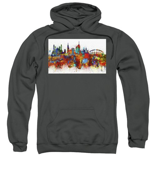 Lagos Colorful Skyline Sweatshirt