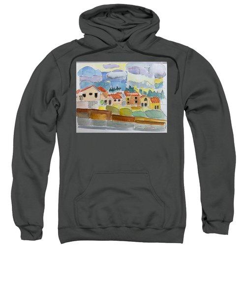 Laguna Del Sol Houses Design  Sweatshirt