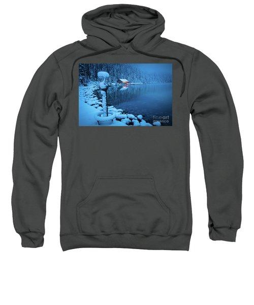 Lake Louise Blue Morning Sweatshirt