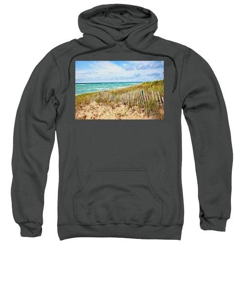 Lake Michigan Beachcombing Sweatshirt