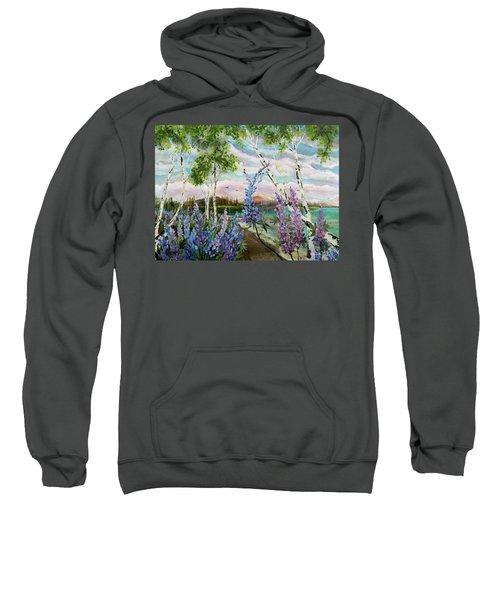 Lakeside Lupin Sweatshirt