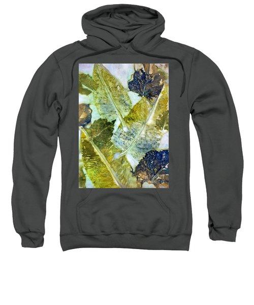 Leaves Of Nature Eco Dyed Print Sweatshirt
