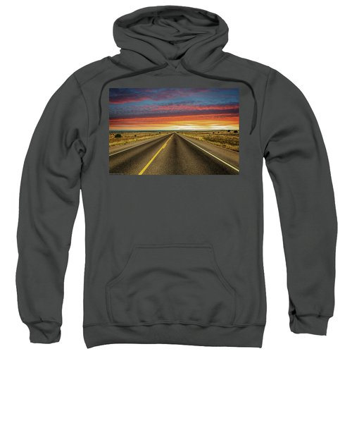 Leaving Lubbock Vanishing Point Sweatshirt