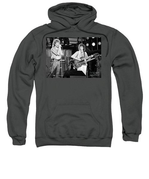 Led Zeppelin Jimmy Page Robert Plant  Sweatshirt