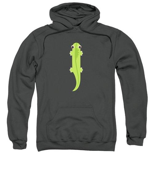 Letter I - Animal Alphabet - Iguana Monogram Sweatshirt