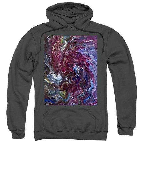 Lilac Oil Sweatshirt