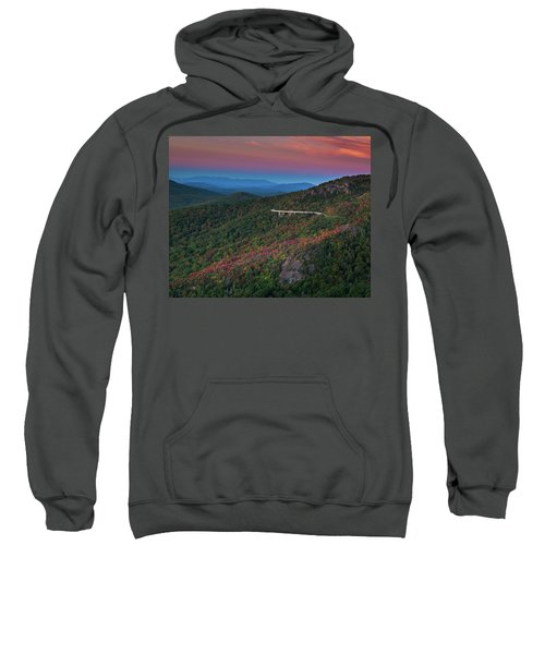 Linn Cove Pink And Blue Sweatshirt