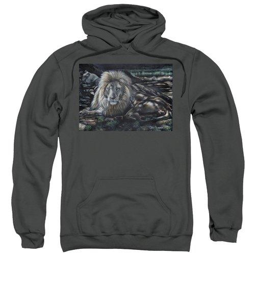 Lion In Dappled Shade Sweatshirt
