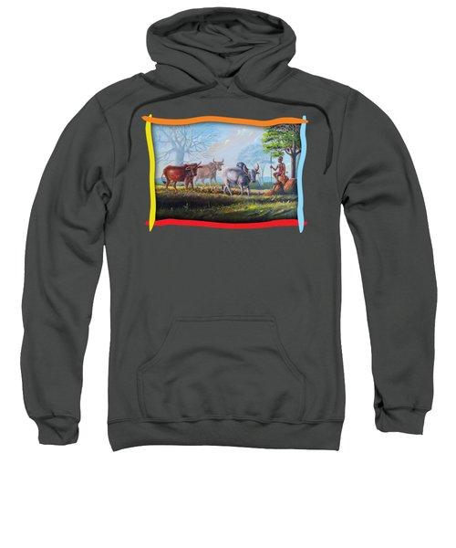 Little Cow Boy Sweatshirt