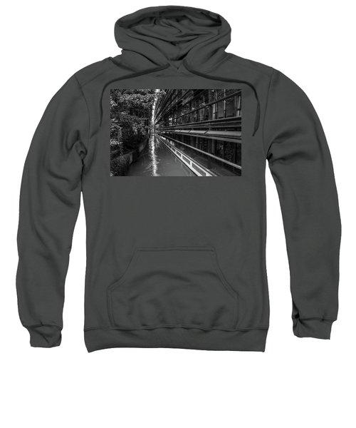 Little River, Big Building Sweatshirt