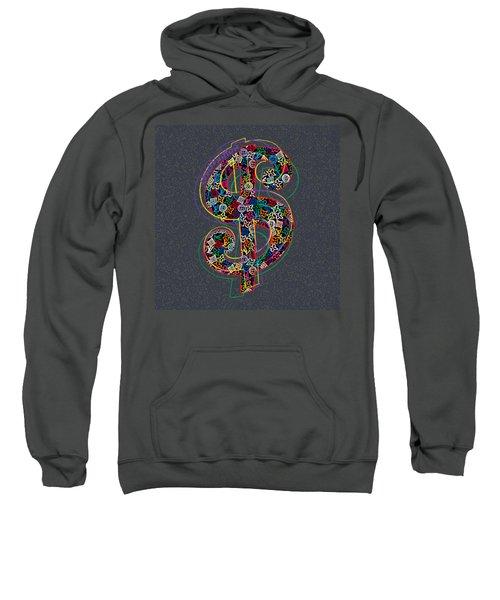 Louis Vuitton Dollar Sign-7 Sweatshirt