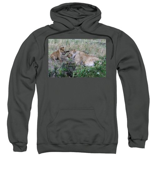 'love You Mom' Sweatshirt