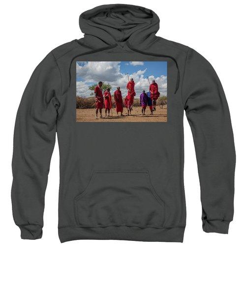Maasai Adumu Sweatshirt