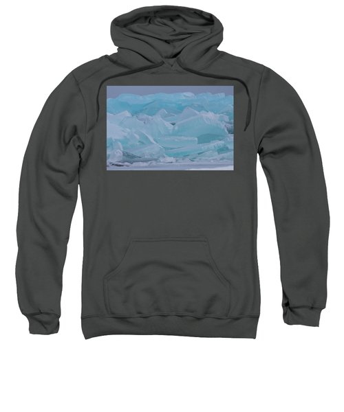 Mackinaw City Ice Formations 21618010 Sweatshirt