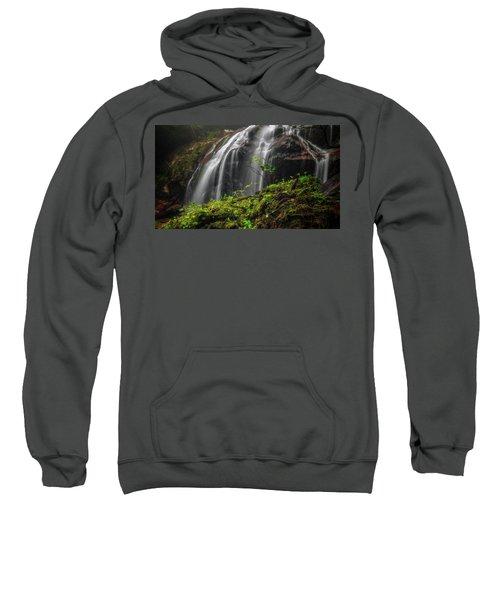 Magical Mystical Mossy Waterfall Sweatshirt