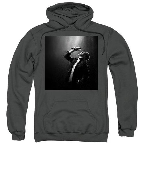 Male Singer Performing Sweatshirt