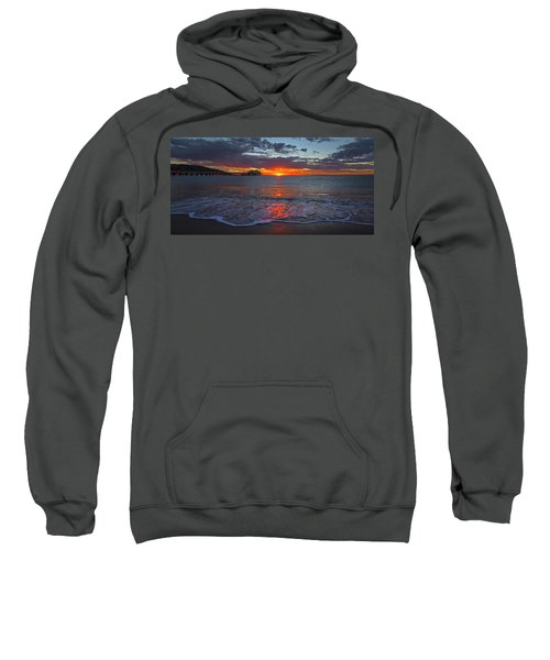 Malibu Pier Sunrise Sweatshirt