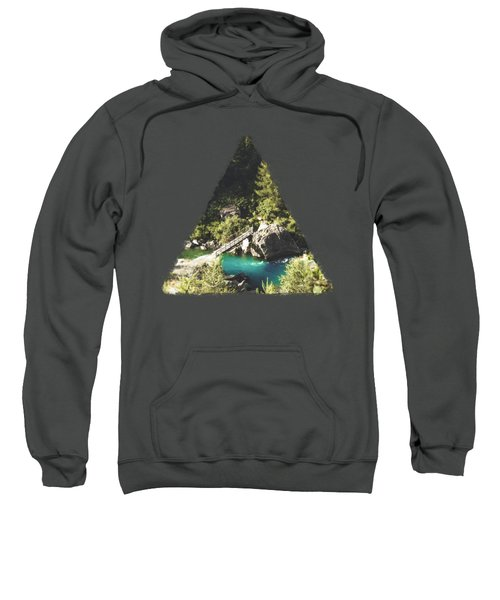 Mallero Mountain River - Lombardia - Italy Sweatshirt