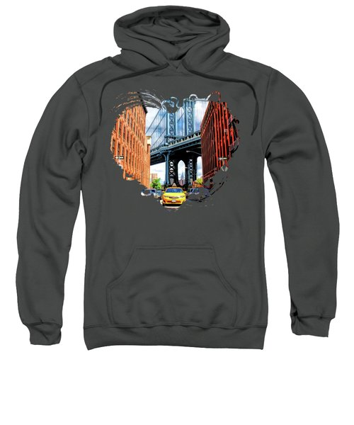 Manhattan Bridge New York City Sweatshirt