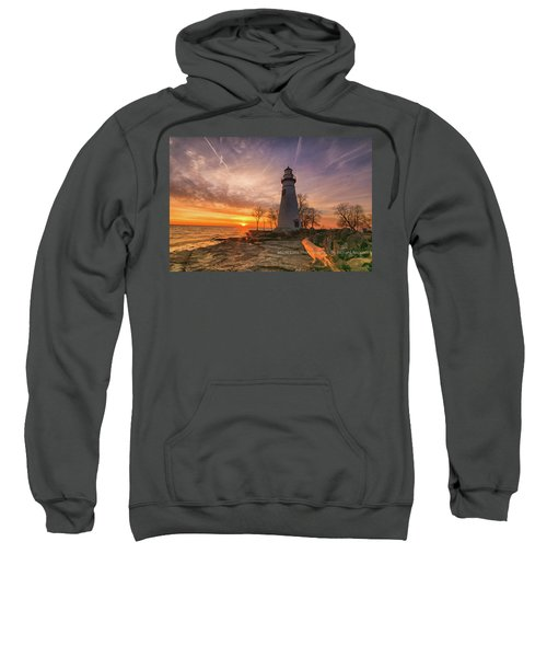 Marblehead Lighthouse Sunrise  Sweatshirt