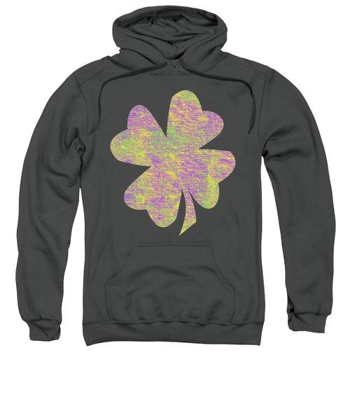 Mardi Gras Shamrock Sweatshirt