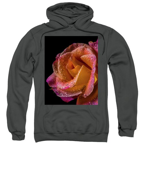 Mardi Gras Sprinkled Beauty Sweatshirt