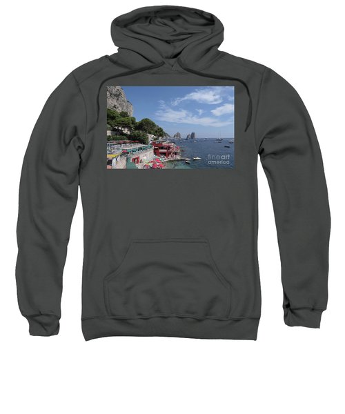 Marina Piccola Beach Sweatshirt