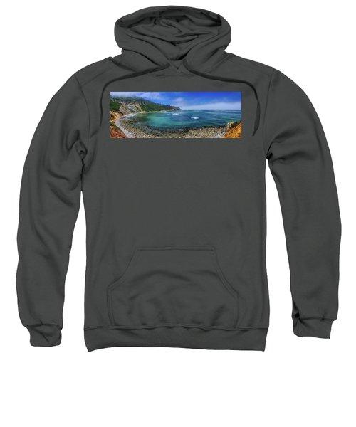 Marine Layer Over Bluff Cove Panorama Sweatshirt