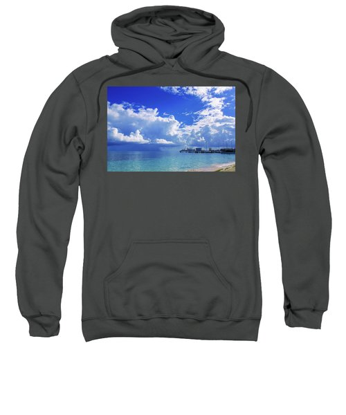 Massive Caribbean Clouds Sweatshirt