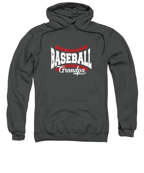 Mens Baseball Grandpa T-shirt Sweatshirt