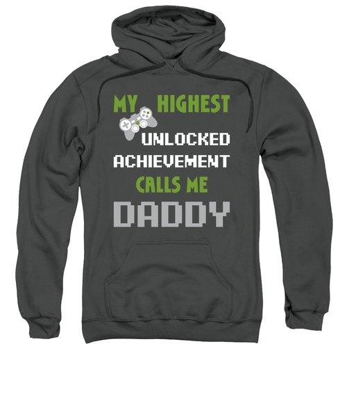 Mens Nerdy Funny Fathers Day Shirt Gamer Dad Video Gaming Apparel Sweatshirt