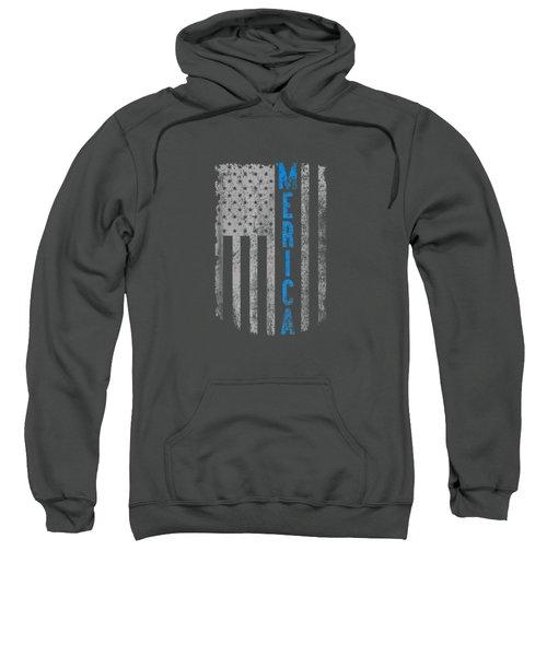 'merica American Flag Vintage Men Women Gift 2018 T-shirt Sweatshirt