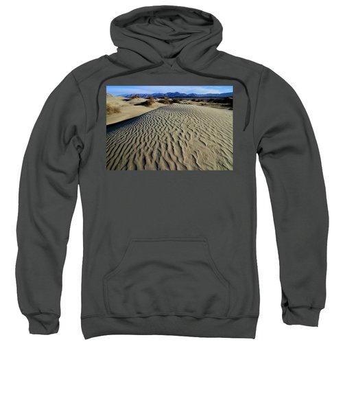 Mesquite Flat Sand Dunes Grapevine Mountains Sweatshirt