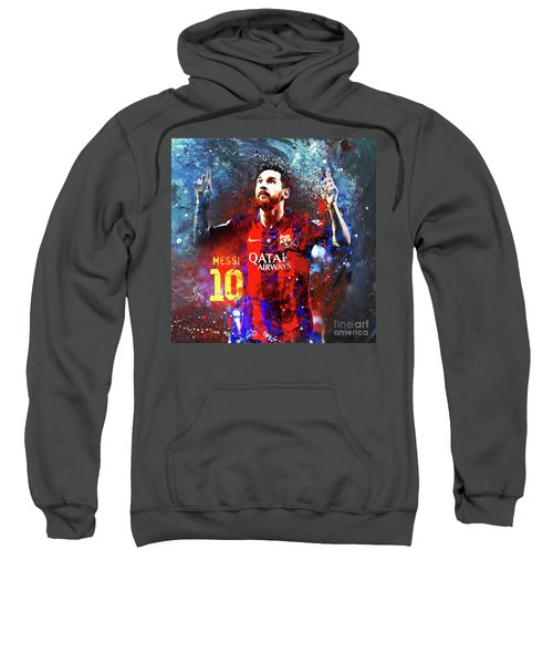 Messi Barcelona Player Sweatshirt