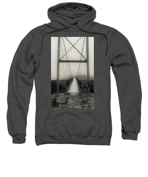 Mile High Swinging Bridge - Grandfather Mountain Sweatshirt