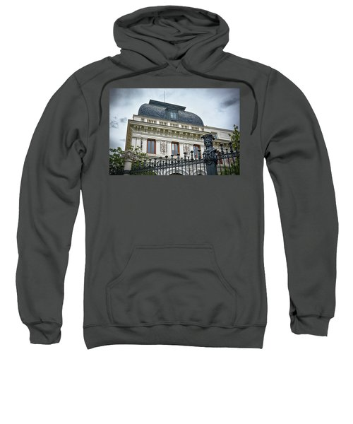 Ministry Of Agriculture Building Of Madrid Sweatshirt