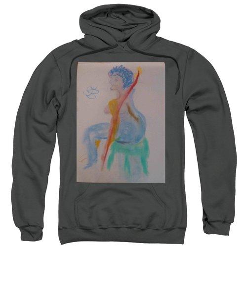 model named Helene two Sweatshirt