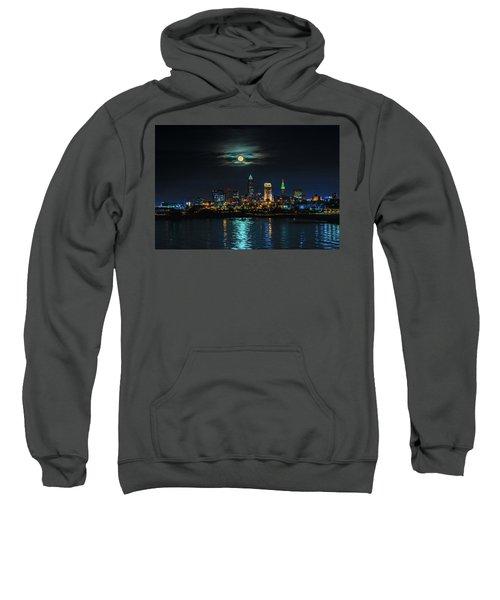 Moon Over Cleveland  Sweatshirt