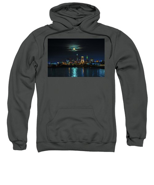 Moon Over Cleveland  Sweatshirt