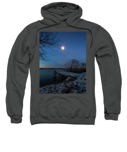 Moonlight Over The Lake Sweatshirt