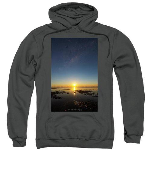 Moonrise Galaxy Sweatshirt