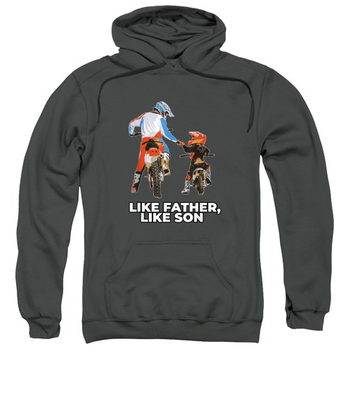 Moto Boss Braaap Dirt Bike Motocross Off-roading Shirt Sweatshirt
