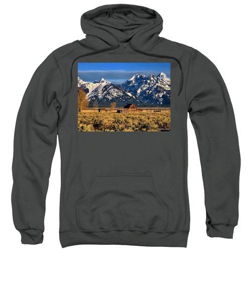 Moulton Barn Grand Tetons Sweatshirt