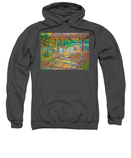 Mountain Lake Shadows Sweatshirt