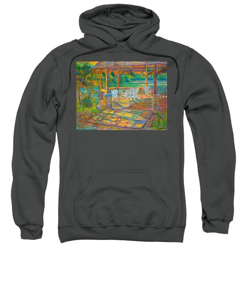 Mountain Lake Shadows Sweatshirt
